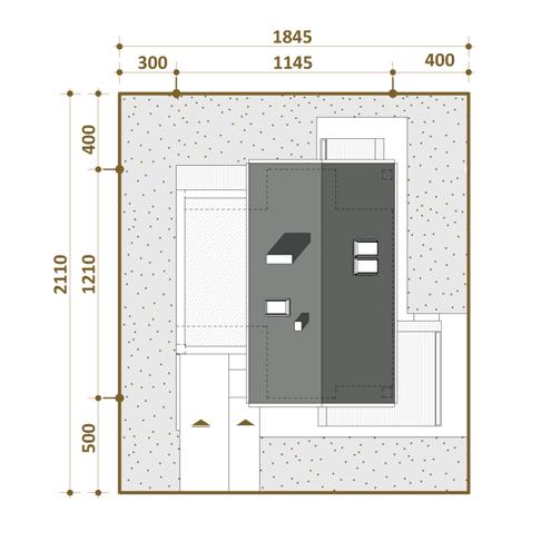 zagospodarowanie projektu swiss pracowni współczesne domy